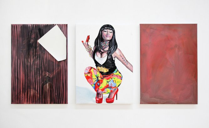 Ditte Ejlerskov, Minaj, dansk kunst, Danish art, contemporary portrait painting, portrætmaleri, samtida porträttmåleri, dansk maleri, Danish painting, figurative painting, figurativt maleri, skandinaviskt måleri, skandinavisk maleri, Scandinavian painting
